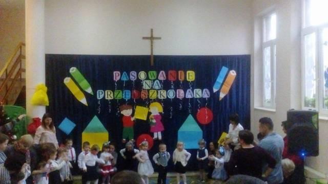 Pasowanie Na Przedszkolaka Przedszkole Spsk W Piotrkowie